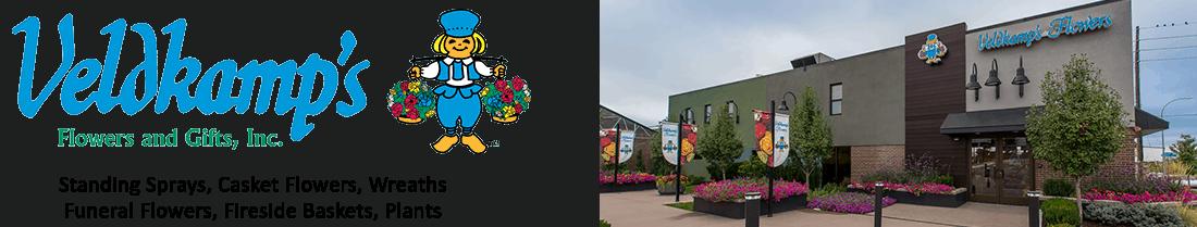 Veldkamps Funeral Flowers Logo